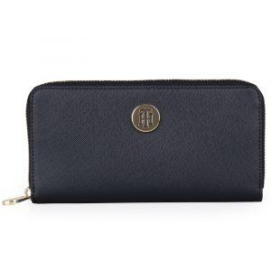 Tommy Hilfiger Dámská peněženka Honey Large AW0AW07446 – tmavě modrá