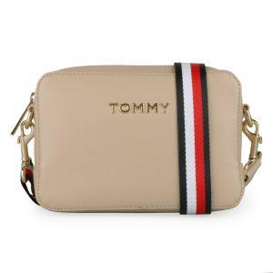 Tommy Hilfiger Dámská crossbody kabelka Iconic Tommy AW0AW07591 – béžová