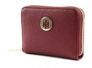 Tommy Hilfiger vínová peněženka TH Core SML ZA Cabernet