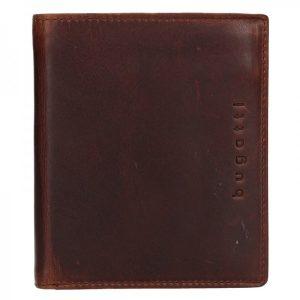 Pánská kožená peněženka Bugatti Merit – hnědá