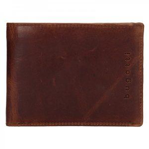 Pánská kožená peněženka Bugatti Oliver – hnědá