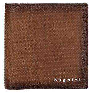Pánská kožená peněženka Bugatti Edd – hnědá
