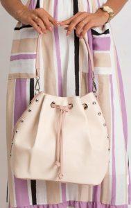 BASIC Dámská růžová kabelka 0004-2 Velikost: univerzální
