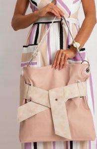 BASIC Dámská kabelka s páskem 0001-4 Velikost: univerzální