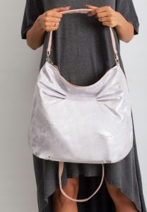 BASIC Dámská stříbrno-růžová kabelka 0003-1 Velikost: univerzální