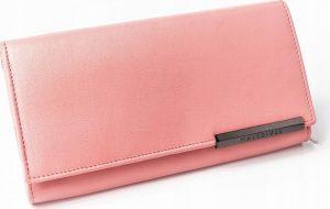 BASIC Dámská růžová peněženka RFID RD-12-GCL-M SALMON Velikost: univerzální