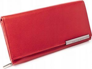 BASIC Dámská červená peněženka RFID RD-12-GCL-M RED Velikost: univerzální