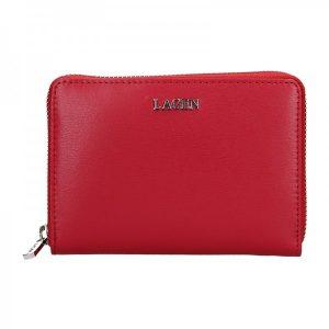 Dámská kožená peněženka Lagen Apolen – červená