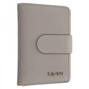 Dámská kožená peněženka Lagen Kamila – taupe