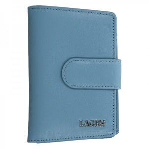Dámská kožená peněženka Lagen Kamila – modrá