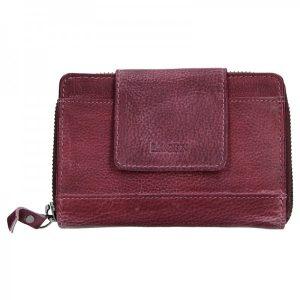 Dámská kožená peněženka Lagen Agáta – fialová