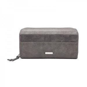 Dámská peněženka Tamaris Khemma Big Zip – tmavě šedá