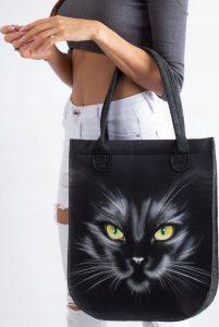 LORENTI Shopper bag NERO Velikost: univerzální
