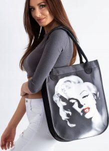 LORENTI Shopper bag grey MARILYN MONROE Velikost: univerzální