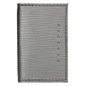 Pánský obal na karty Facebag Marco – stříbrná