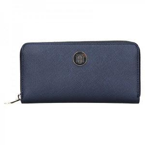 Dámská peněženka Tommy Hilfiger Eva – tmavě modrá