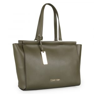Calvin Klein Dámská kabelka přes rameno Enfold K60K605622 – khaki