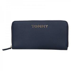 Dámská peněženka Tommy Hilfiger Lilia – tmavě modrá