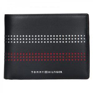 Pánská kožená peněženka Tommy Hilfiger Miami – černá