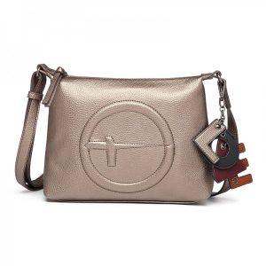 Dámská crossbody kabelka Tamaris Fei – bronzovo-hnědá