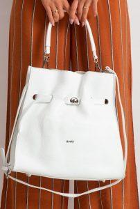 ROVICKY Bílá kabelka TD-026 BIANCO Velikost: univerzální