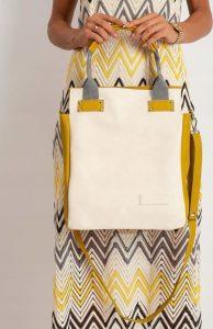 BASIC Dámská žlutá kabelka 0015-1 Velikost: univerzální