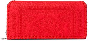 Desigual Peněženka Mone Soft Bandana Maria Rojo Fuerte 19WAYP07 3083