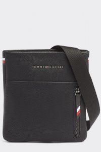 Tommy Hilfiger černá pánská taška Essential Mini Crossover Black
