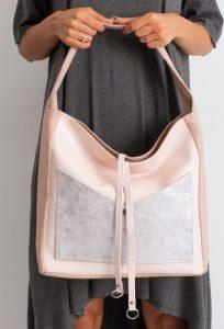BASIC Dámská růžová kabelka 0020 Velikost: univerzální