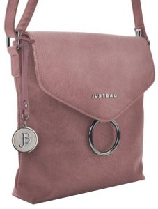 JustBag Dámská kabelka YF1812-908 Dark Pink
