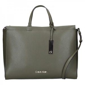 Dámská kabelka Calvin Klein Ritta – olivová