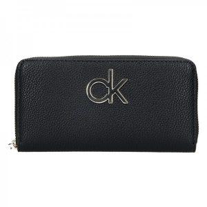 Dámská peněženka Calvin Klein Fiora – černá
