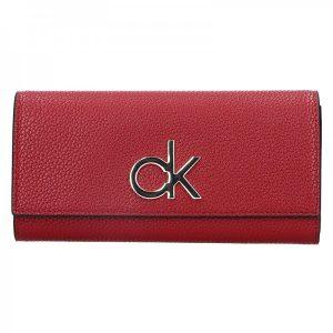Dámská peněženka Calvin Klein Ghita – vínová
