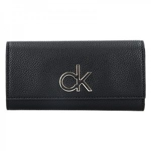 Dámská peněženka Calvin Klein Ghita – černá