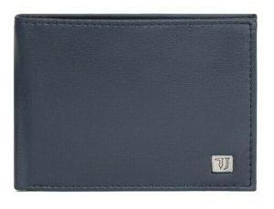 Trussardi Pánská peněženka Smooth 71W00005-U290 Navy Blue
