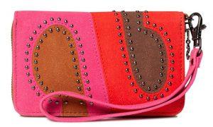Desigual Peněženka Mone S-Patch Mini Zip Rojo Loft 19WAYP21 3088
