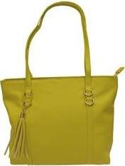 BASIC Žlutá kabelka se střapcem – HBFB280 Velikost: univerzální