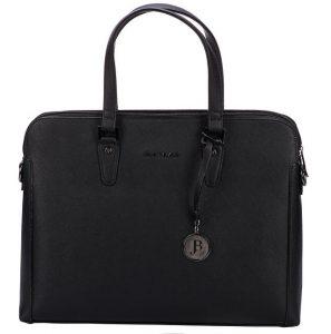 JustBag Dámská kabelka 3756 Black