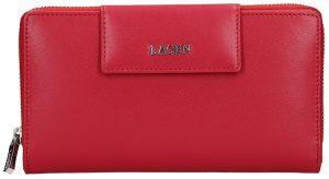 Lagen Dámská kožená peněženka 50311 Red