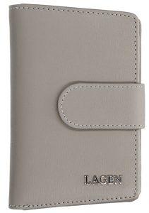 Lagen Dámská kožená peněženka 50313 Grey