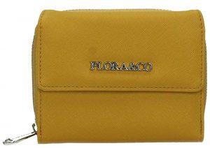 FLORA & CO Dámská peněženka K6011 Moutarde