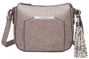 Tamaris Dámská kabelka MIRELA Crossbody Bag S Antelope Comb
