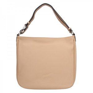 Elegantní dámská kožená kabelka Katana Jindra – pudrová
