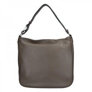 Elegantní dámská kožená kabelka Katana Jindra – hnědá