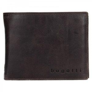 Pánská kožená peněženka Bugatti Rodrigo – tmavě hnědá