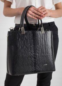 ROVICKY Elegantní černá kabelka 1326 Velikost: univerzální