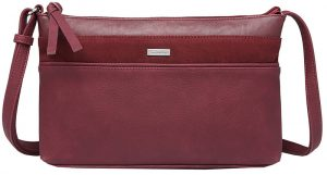 Tamaris Dámská kabelka KHEMA Crossbody Bag S Bordeaux Comb