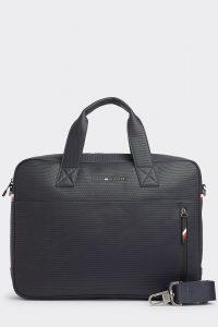 Tommy Hilfiger tmavě modrá pánská taška na notebook Essential Pique Computer Bag Sky Captain