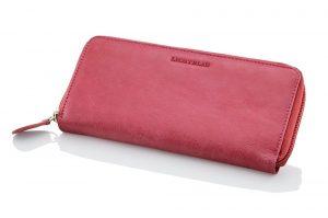 Travelite Dámská kožená peněženka Lichtblau 5000-17