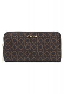 Must Large Peněženka Calvin Klein | Hnědá | Dámské | UNI